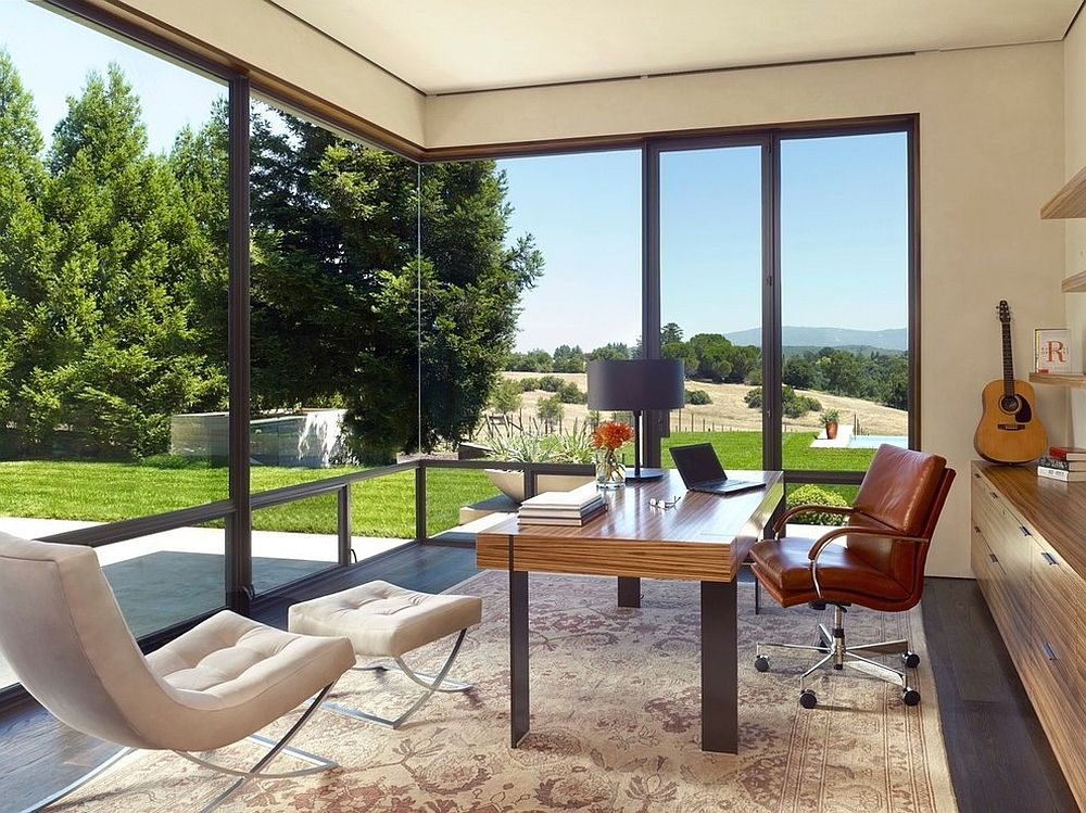 Enjoy the view outside with a smart corner window