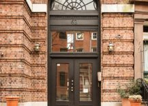Entrance to renovated YMCA building that holds the loft apartment 217x155 Filled with the Romance of Art and Books: Brooklyn Heights Loft