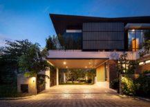 Entrance-to-the-ingenious-Two-Houses-in-Nichada-Bangkok-217x155