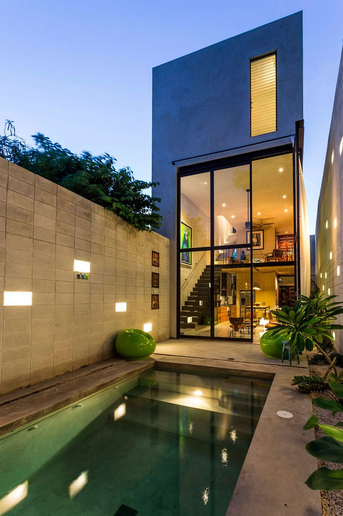 Exquisite modern residence in Merida, Mexico by Taller Estilo Arquitectura