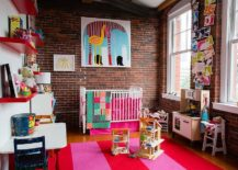 Fabulous kids' bedroom with color can easily grow along with your kid!