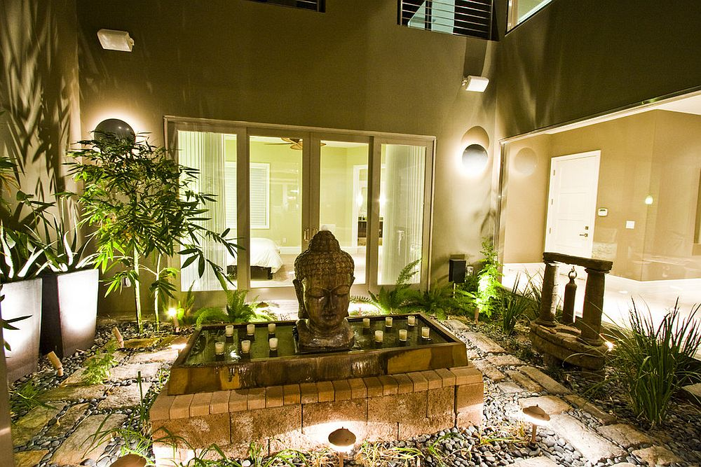 find your inspiration in a stunning courtyard like this design dive interior concepts - Meditation Room