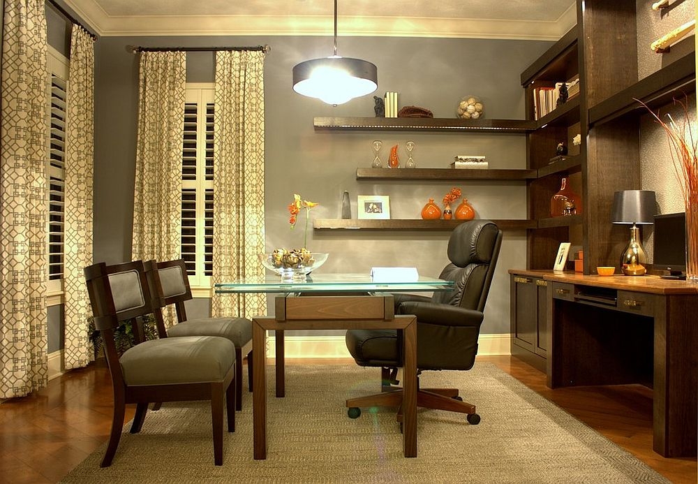 23 Space-Savvy Home Offices that Utilize their Corner Space