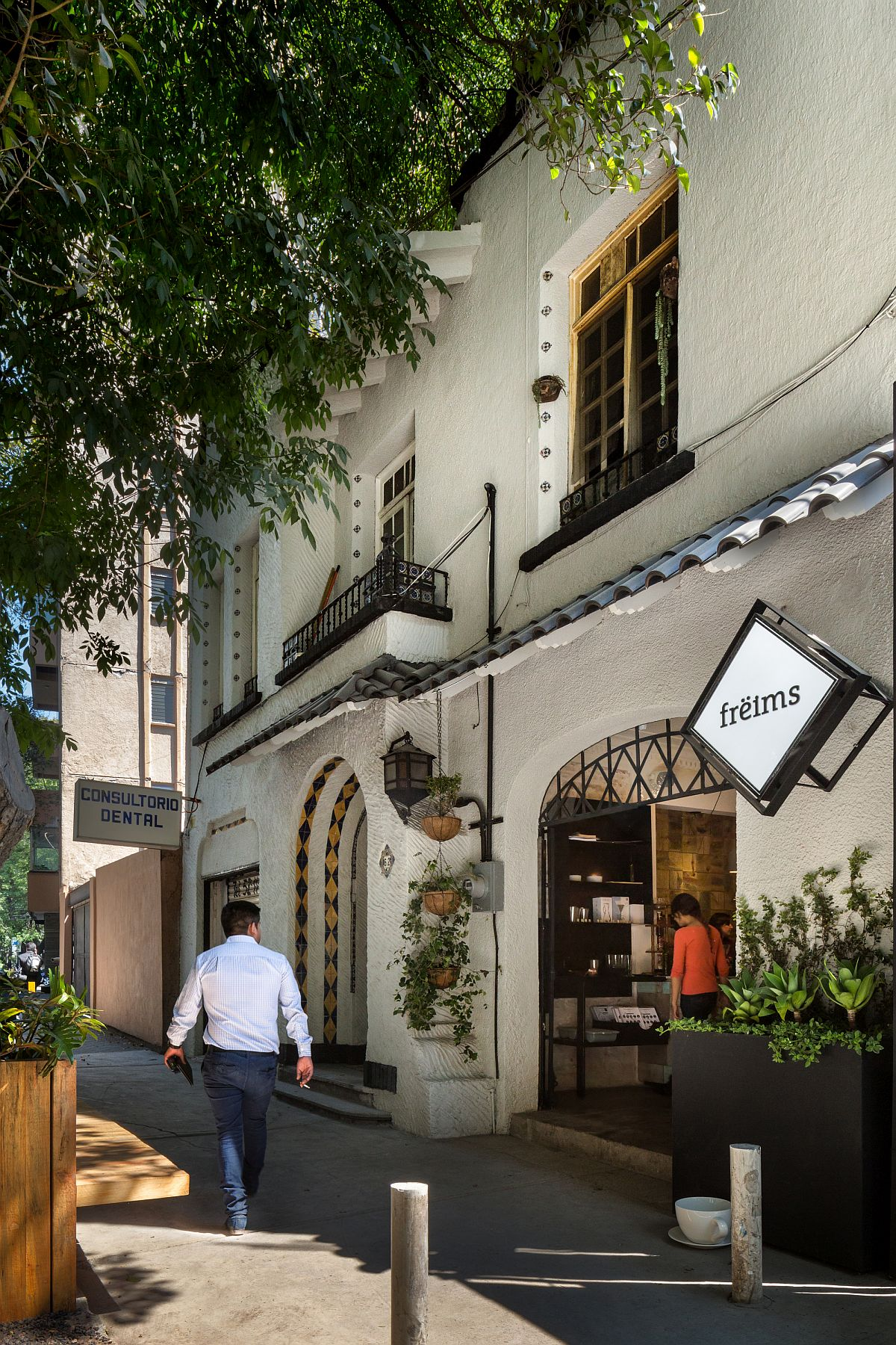 Freims Restaurant in La Condesa, Mexico City