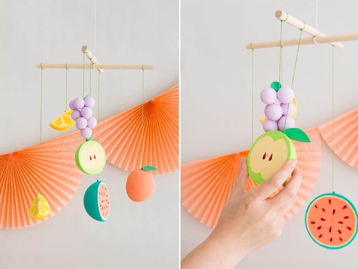 Fruit mobile from Oh Happy Day
