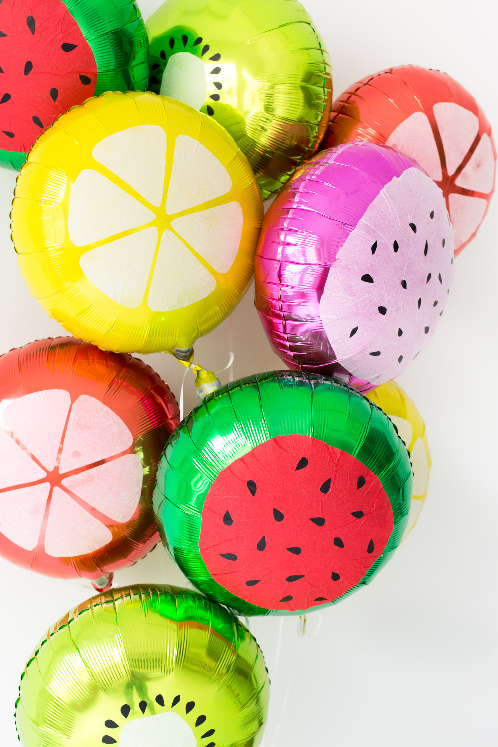 Fruit slice balloons from Studio DIY