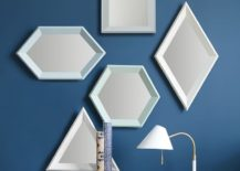 Geo mirrors from West Elm 217x155 Design Trend: Small Geo Mirrors