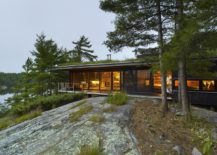 An Island Retreat: Cabin with Green Roof Offers a Cozy, Magical Escape