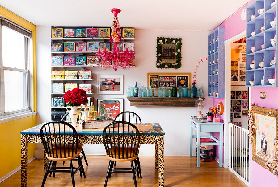 Go overboard for a kitschy retro look [From: Rikki Snyder]