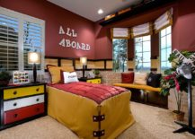 Gorgeous kids' bedroom full of character and color