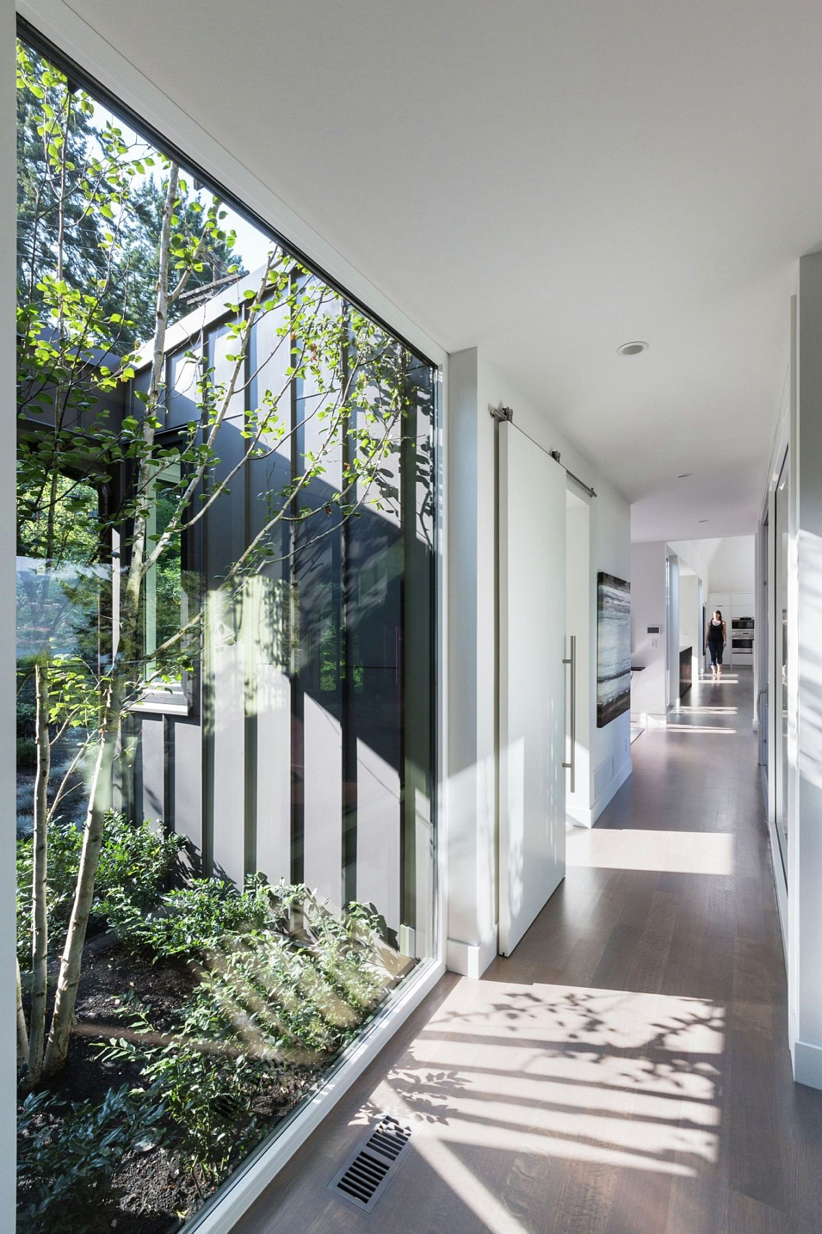 Green features and clever nooks bring in a flood of natural light