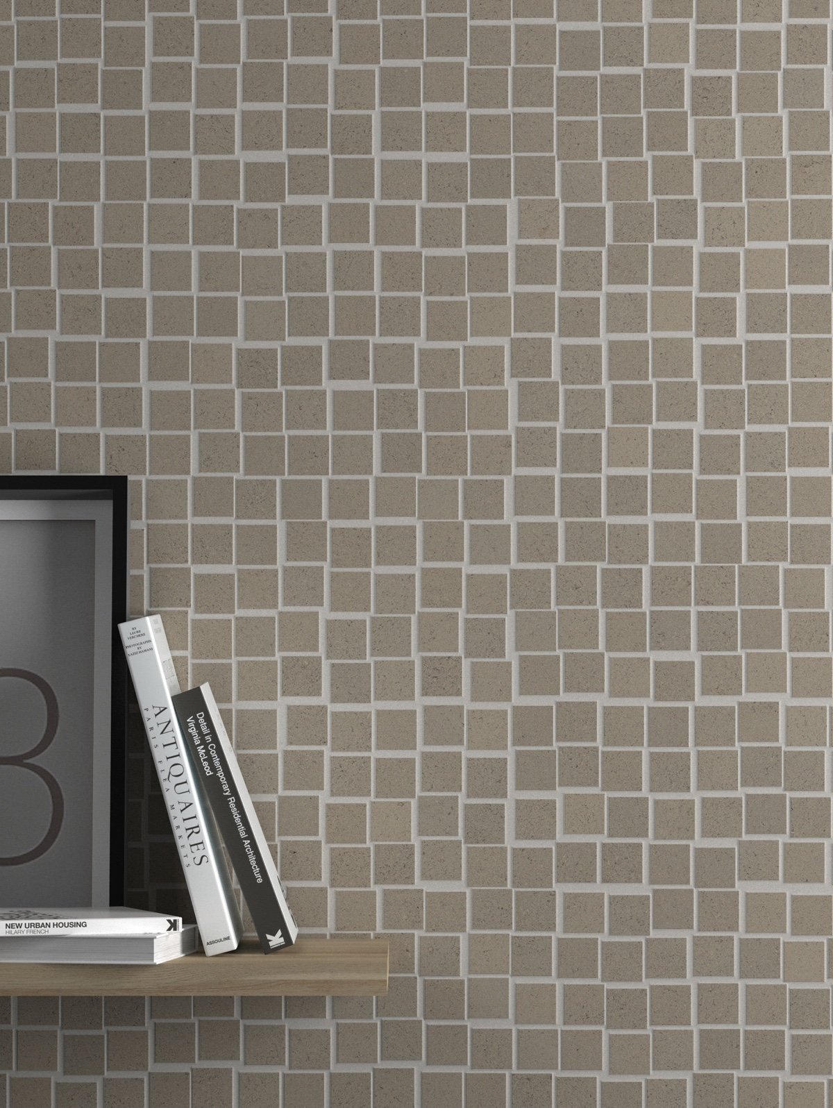'Ground Grey Moved Mosaic' from Living Ceramics.