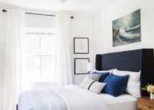 Guest room makeover from Emily Henderson 217x155 20 Guest Rooms with Hospitable Style