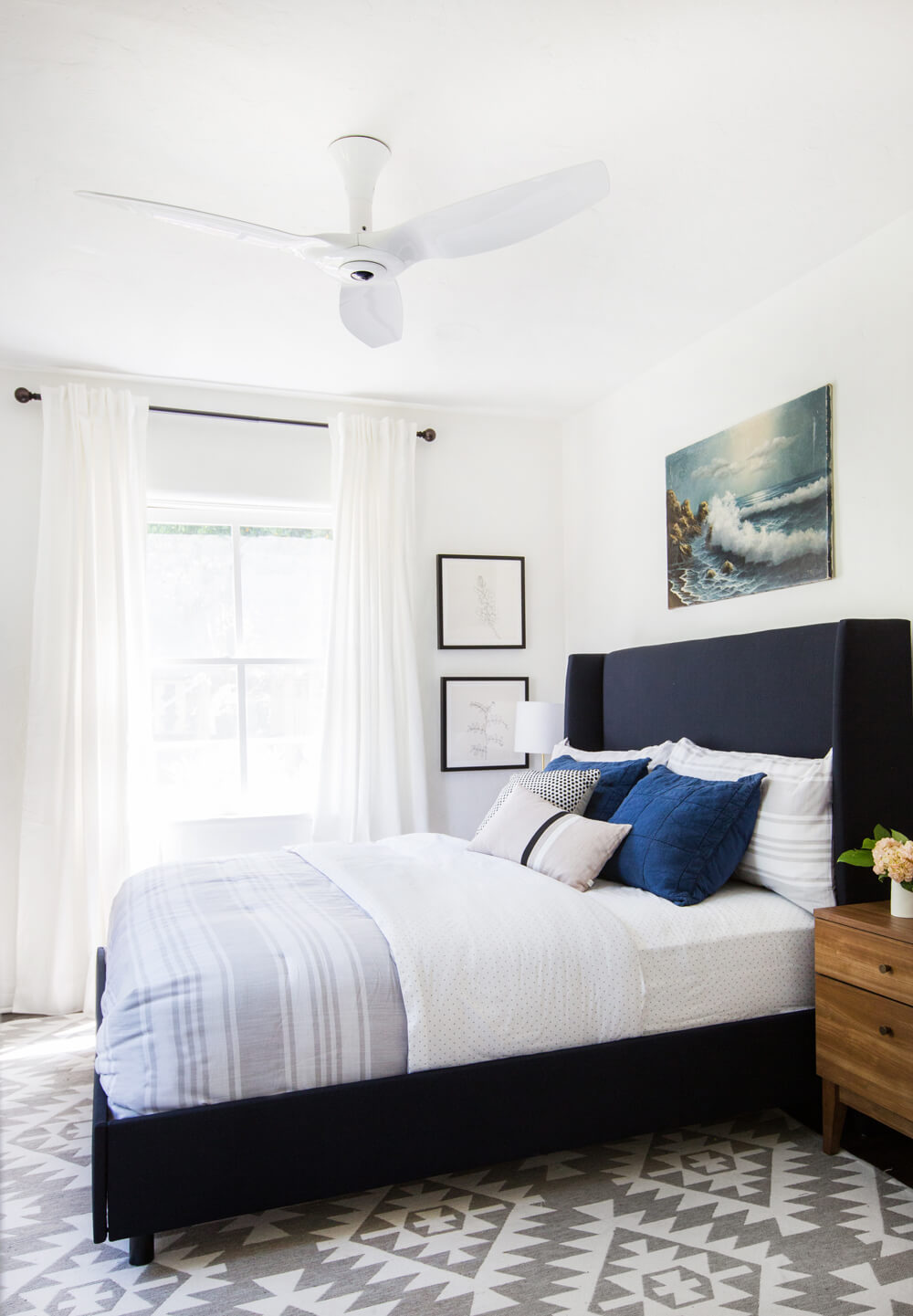 Guest room makeover from Emily Henderson