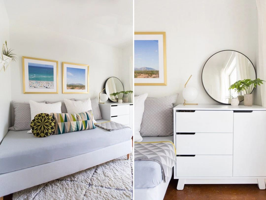 Guest room makeover from Sugar & Cloth