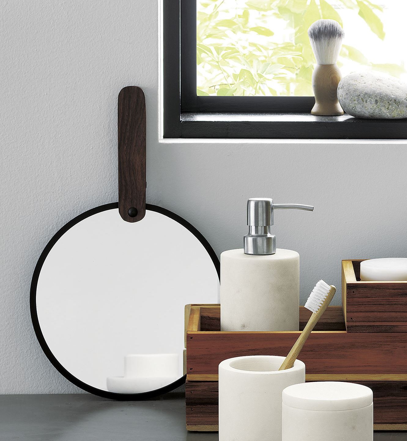 View In Gallery Hand Mirror From Cb2