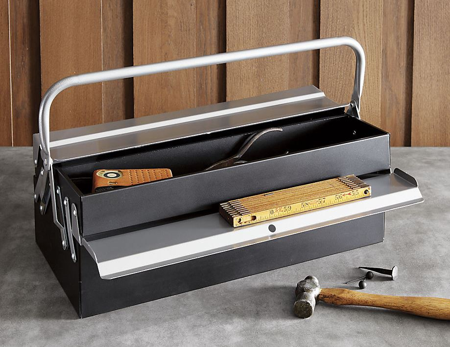 Handy tool box from CB2