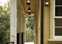 Hanging lanterns - A perfect way to light up the porch and long hallways