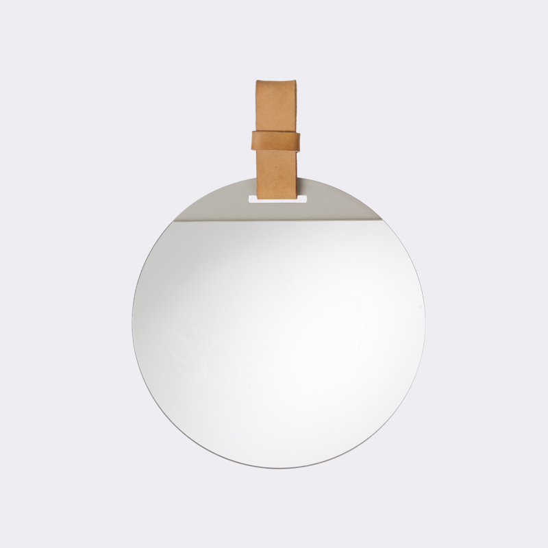 Hanging mirror from ferm LIVING