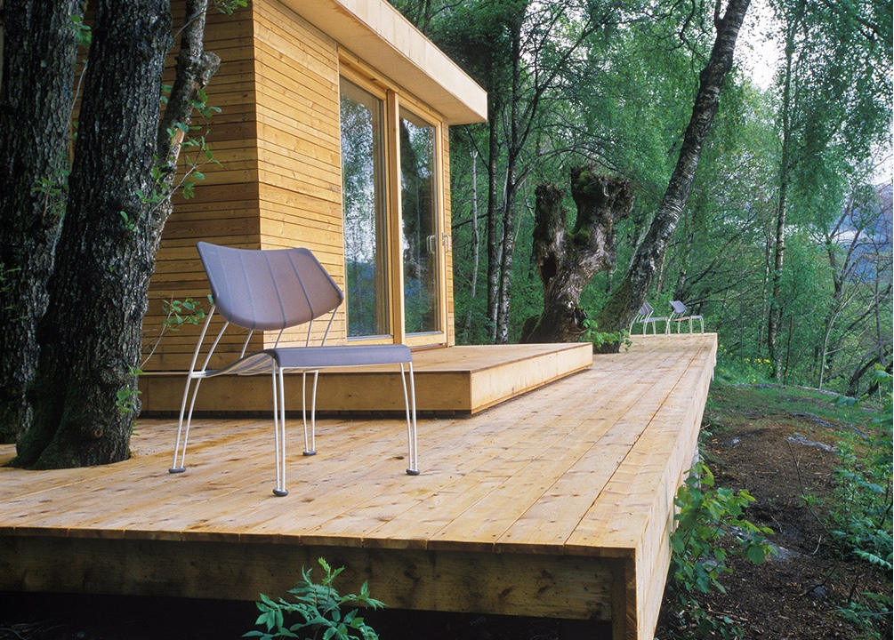 Hardanger Retreat deck.