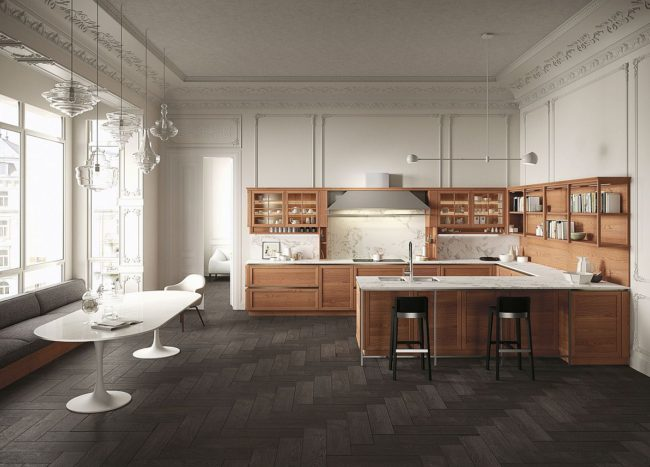 Heritage: Traditional and Modern Elements Fused by the Beauty of Wood