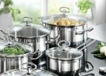Karcher Jasmin stainless steel cookware