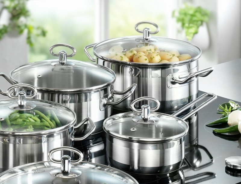 Karcher Jasmin stainless steel cookware