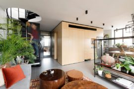 Unboxing Space: Duplex Apartment Merges Diverse Eras and Styles!