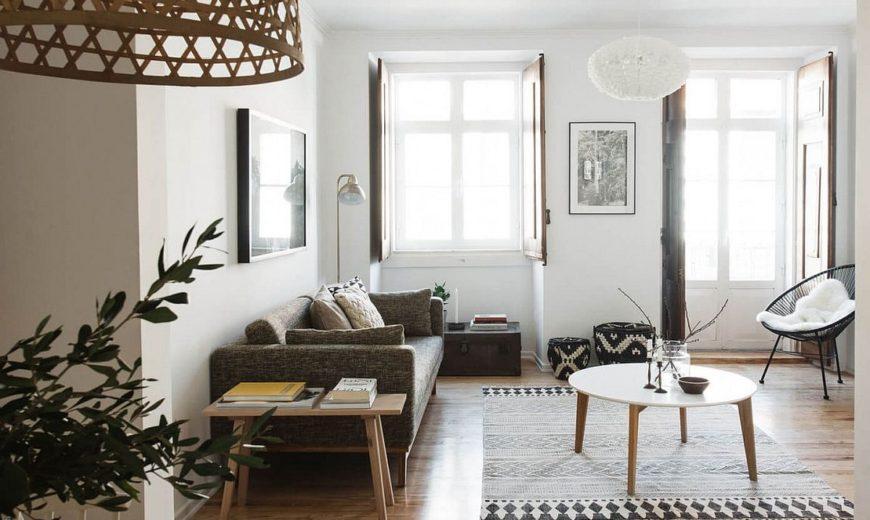 Serenely Scandinavian: Light-Filled Renovation of Lisbon Apartment