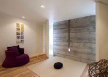 Minimal Meditation room keeps with custom design