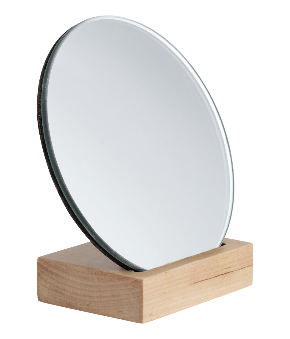 Mirror with a wooden base from H&M Home