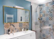 Mix and match different tiles of your choice to create your own custom patchwork design
