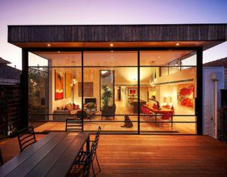 Sensible Alterations Enliven Small, Semi-Detached Melbourne House