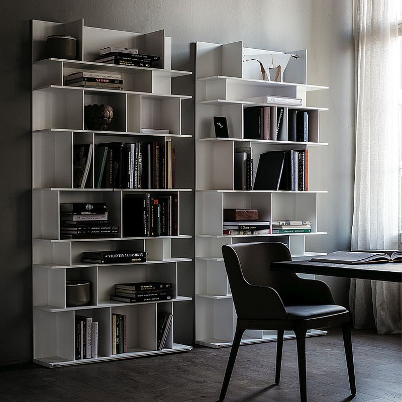 Modular bookcase Wally designed by Philip Jackson