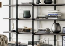 Modular bookcase and decorative shelf by Giorgio Cattelan