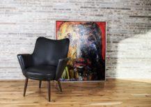 Mogens Hansen No2 black leather