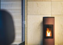 Mood - Ductable pellet stove for the contemporary home