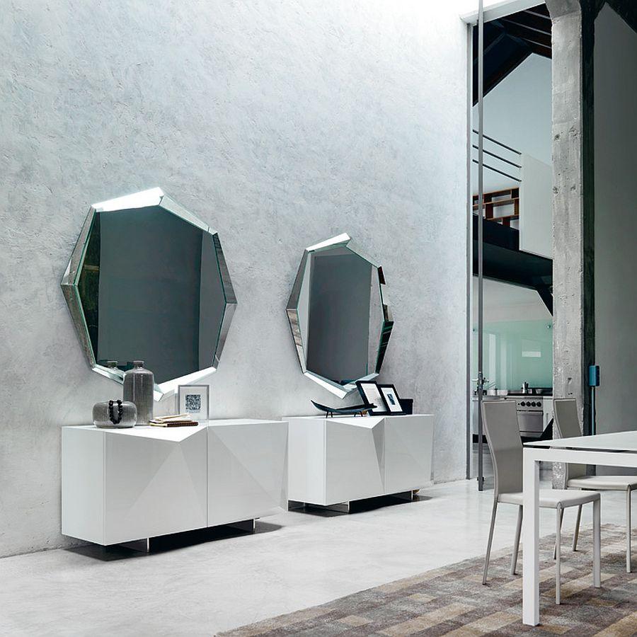New mirror designs from Cattelan Italia - Emerald