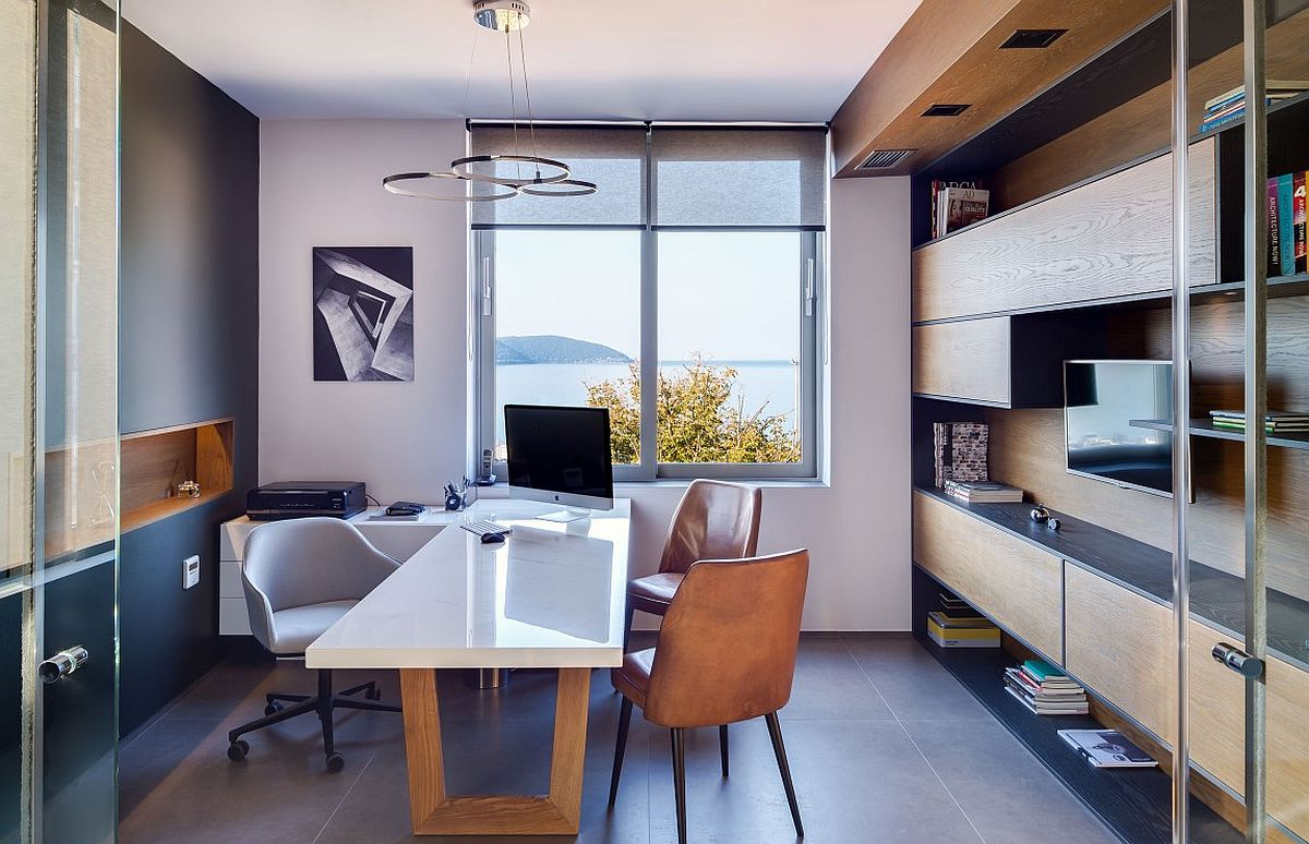 Groovy Small Architectural Office With A View Of The Ionian Sea Largest Home Design Picture Inspirations Pitcheantrous