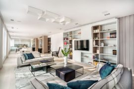 Posh Refashioned Penthouse Ushers In 360 Degree View of Sofia