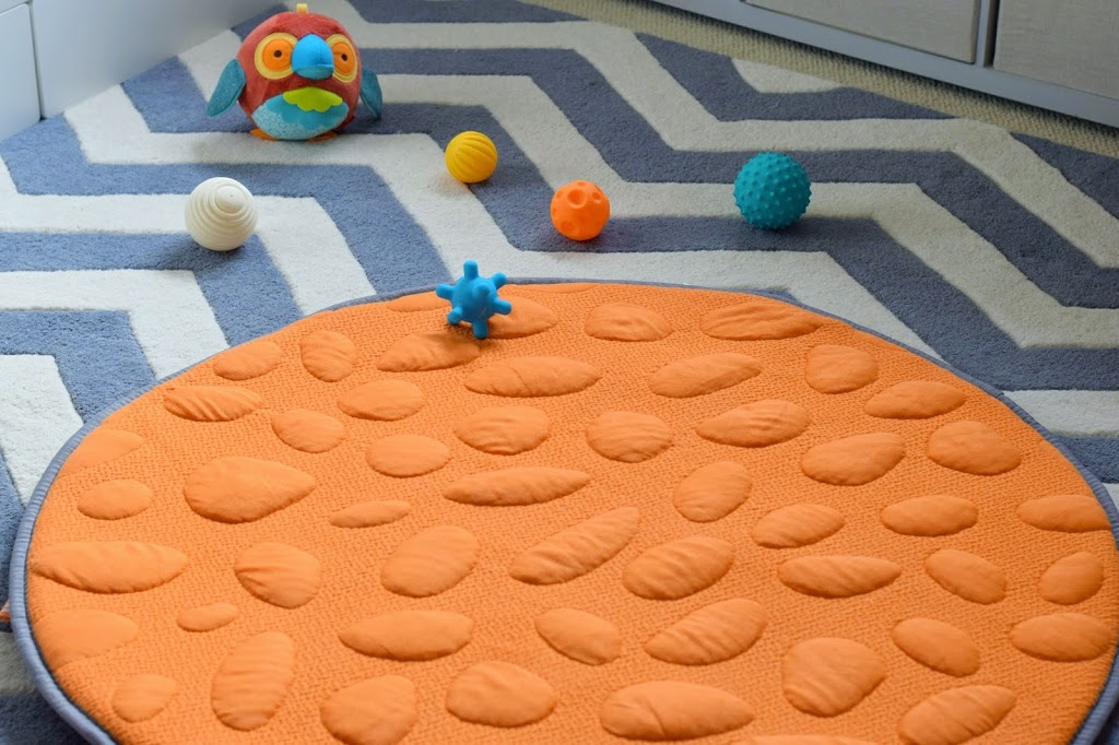 Organic play mat from Nook