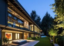Outdoor Jacuzzi and covered living space provide a soothing retreat for aperfect staycation 217x155 Taking in the View: Lovely Vancouver Home Extends Its Living Space Outdoors