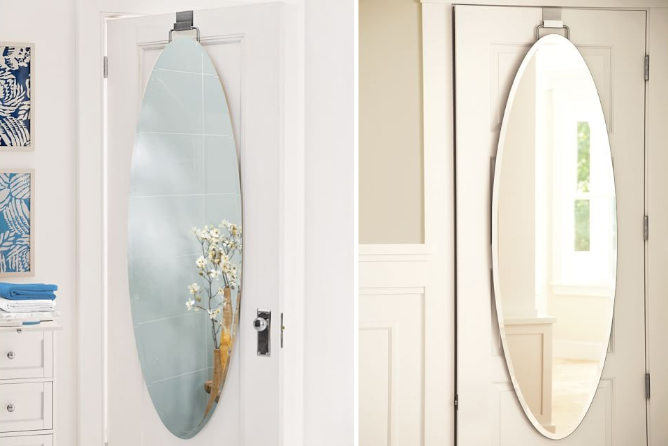 Oval mirror from Pottery Barn