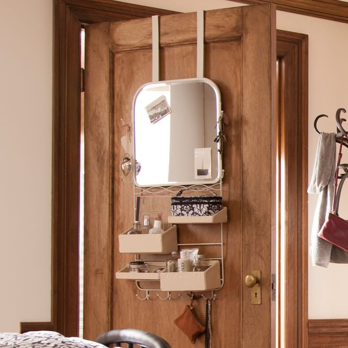 Over the door mirror rack combo from PB Teen
