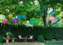 Paper lanterns add color and vivacious charm to the patio without costing a fortune 217x155 25 Outdoor Lantern Lighting Ideas That Dazzle and Amaze!