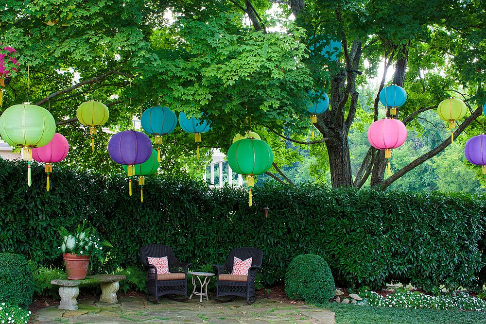 High Quality View In Gallery Paper Lanterns Add Color And Vivacious Charm To The Patio  Without Costing A Fortune [From