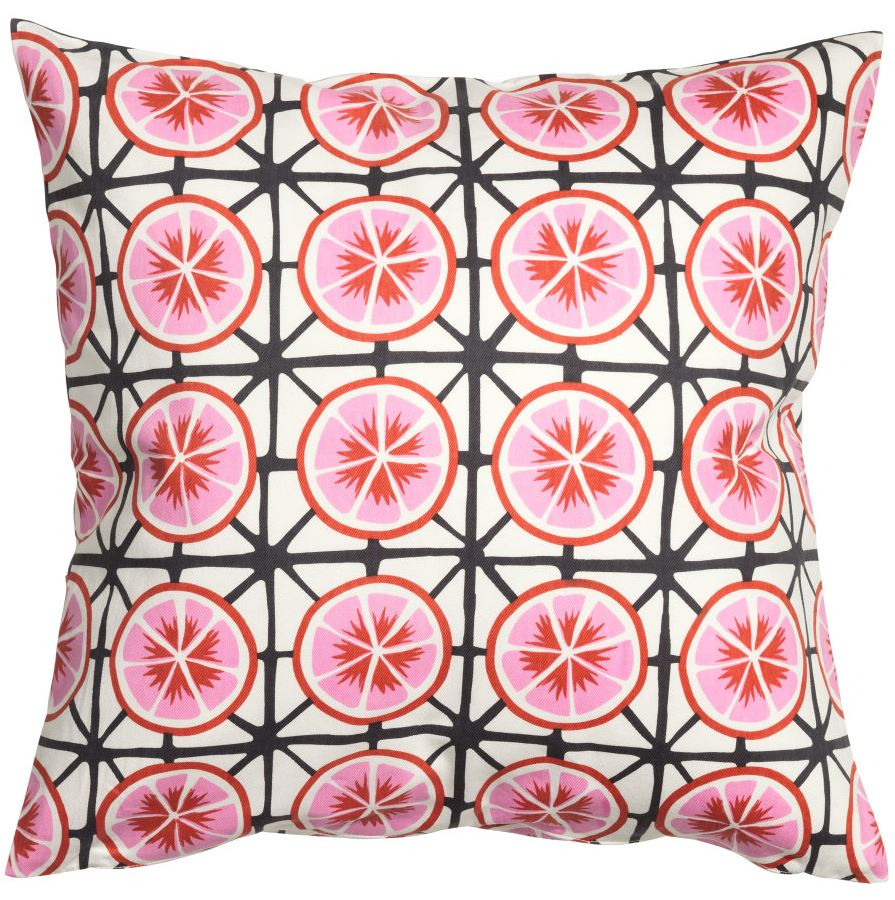 Patterned cushion cover from H&M Home