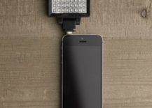 Phone power flash from Restoration Hardware