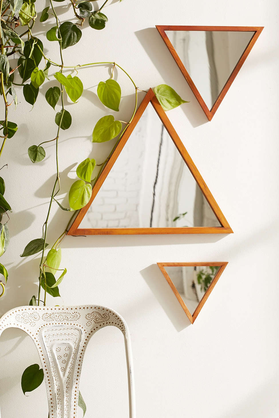 Design Trend Small Geo Mirrors