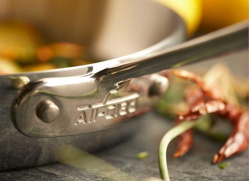 Quality All-Clad cookware